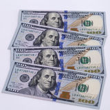 New banknote hundred dollars Royalty Free Stock Image