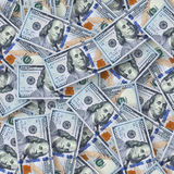 New $100 banknote seamless pattern background Stock Image