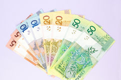New banknotes of the Belarusian ruble Royalty Free Stock Image