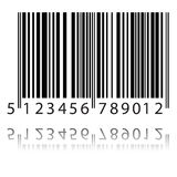 New bar code Stock Photography