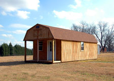 New barn shed for sale Stock Photo