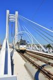 The new basarab suspension bridge in Bucharest Royalty Free Stock Image