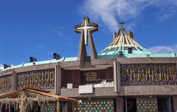 New Basilica Guadalupe Shrine Mexico City Mexico Royalty Free Stock Photos