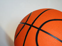 New Basketball. A new orange playground basketball Royalty Free Stock Photos
