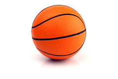 New Basketball - Isolated on White. Background Stock Photo