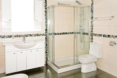 New bathroom Stock Images