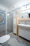 New bathroom interior Stock Images