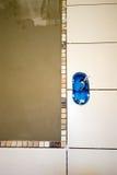 New bathroom wall Stock Image