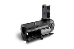 New battery grip for Single Reflex Photocamera Royalty Free Stock Image