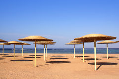 New beach in Charm ale Sheikh , Nabk bay royalty free stock image