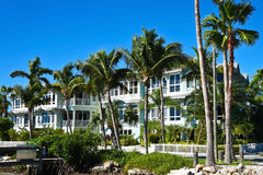 New Beach Condominiums Royalty Free Stock Image