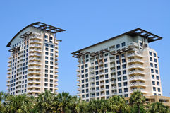 New Beach Condos Royalty Free Stock Image
