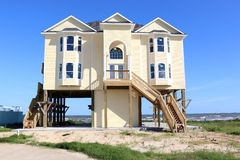 New Beach House Royalty Free Stock Images