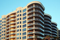 New beach side condos Royalty Free Stock Image