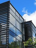 New beautiful modern building, Lithuania Stock Photography