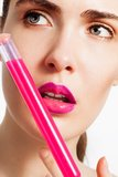 New beauty medicine in test-tube Stock Images
