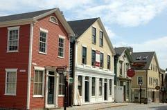 New Bedford, mA : 19ème Chambres de siècle Photographie stock libre de droits