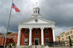 New-Bedford, MA: Kammergericht-Haus lizenzfreies stockfoto
