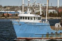 Wheelhouse of commercial fishing boat Starlight Stock Photos