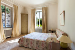 New bedroom in classical style Royalty Free Stock Photos