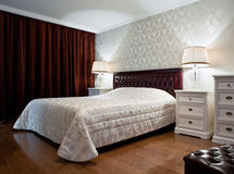 New bedroom interior Royalty Free Stock Images