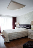 New bedroom interior Royalty Free Stock Photo