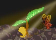 New beginning vector illustration