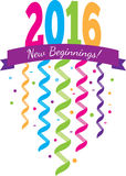 2016 New Beginnings Stock Photo