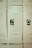 New Beige Lockers Stock Image