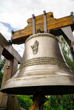 New bell for the old church Stock Photos