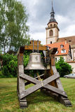 New bell for the old church Stock Images