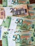 New Belorussian money. Cash background Royalty Free Stock Photos