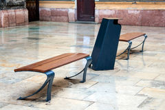 New bench Royalty Free Stock Photography