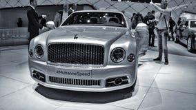 New Bentley Mulsanne Stock Photo