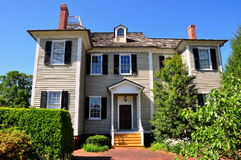 New Bern, NC: 1835 Dixon House Stock Photo
