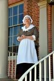 New Bern, NC: Docent at Tryon Palace Stock Photo