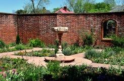 New Bern, NC: Kellenberger Garden at Tryon Palace Royalty Free Stock Photography