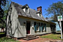 New Bern, NC: 1705 Major John Danes House Royalty Free Stock Photos