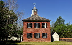 New Bern, NC: 1809 Old Academy Stock Photography