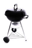 New black barbecue Royalty Free Stock Photos