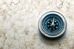 New black compass Royalty Free Stock Image