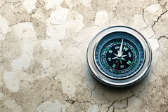 New black compass Stock Photos
