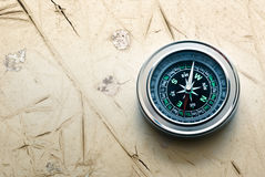 New black compass Royalty Free Stock Images