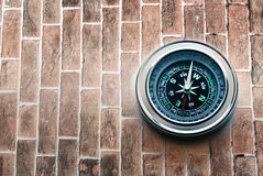 New black compass stock photography