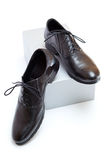 New black shoes. Royalty Free Stock Images