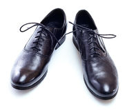 New black shoes Royalty Free Stock Photography