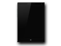 New Black Tablet Stock Image