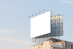New blank billboard Royalty Free Stock Image