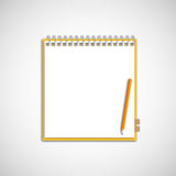 New blank space sheet Royalty Free Stock Image
