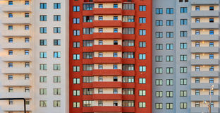 New block of flats building. royalty free stock photos